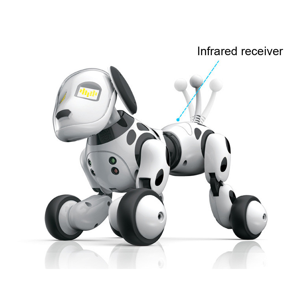 Child Holiday Best gift RC toys walking dog 2.4G Wireless Remote Control Smart Dog Electronic Pet Educational Kids robot dog toy