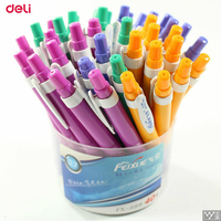 Deli Ballpoint Pens 40 Pcs 0 7mm Press Lovely Snow Creative School Supplies Stationery Gel Pen