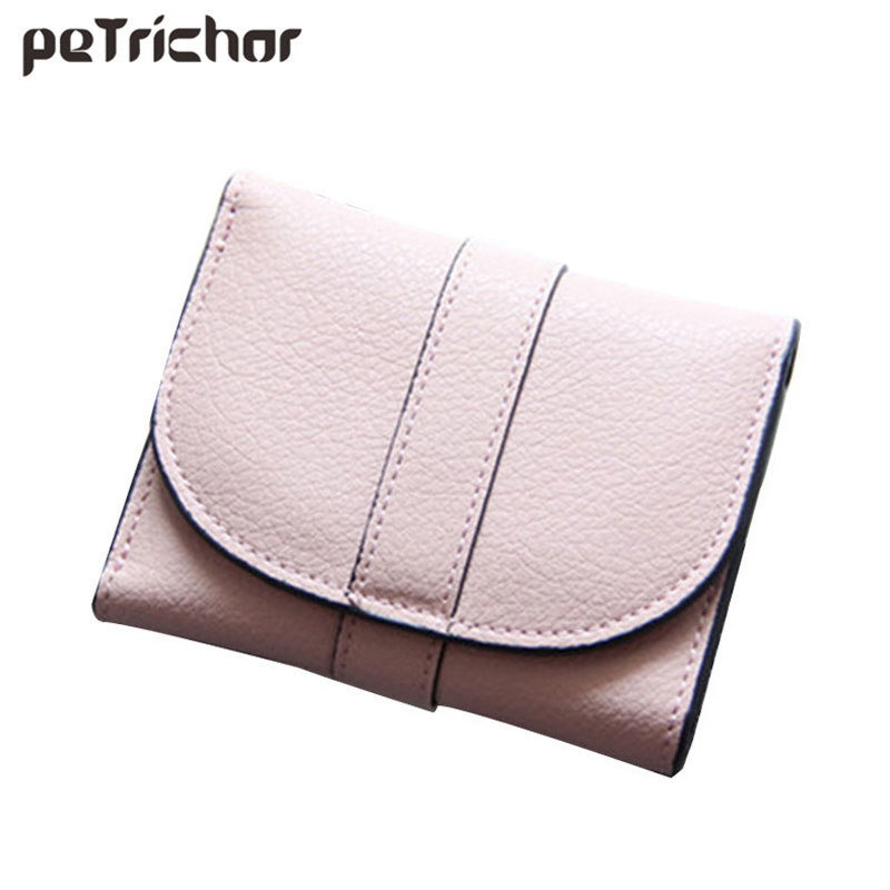 2017 Women Leather Wallets Fashion Lady Short Clutch Change Purse Female Hasp Solid Ladies Coin Pocket Small Bags стоимость