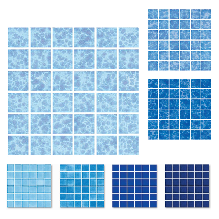 ceramic swimming pool tiles brick swimming pool tile 48 pad solid color series wholesale discount adjust shipping