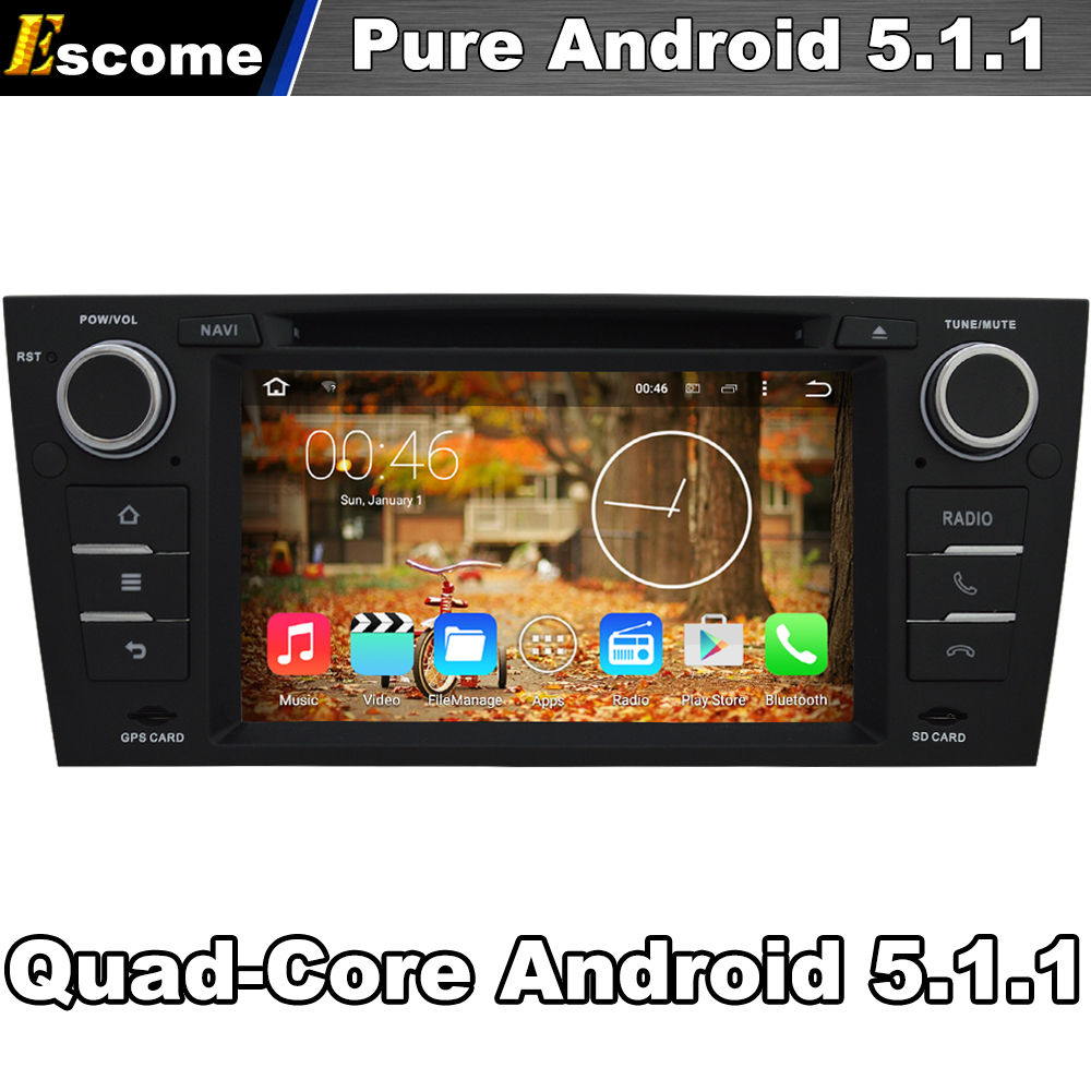Чистый андроид 5.1 автомобиль DVD для <font><b>BMW</b></font> 3 серии <font><b>E90</b></font> салон E91 Touring E92 купе E93 кабриолет с 4 ядра 2 г Встроенная память <font><b>Bluetooth</b></font> GPS