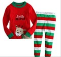 The new Christmas suit boys and girls long paragraph tracksuit jacket + pants