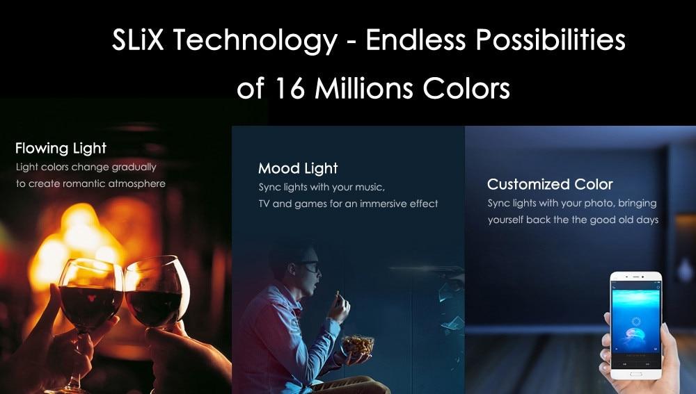 Original Xiaomi Yeelight II Smart LED Bulb E27 9W 600 Lumens Mi Light Smart Phone WiFi Remote Control  2