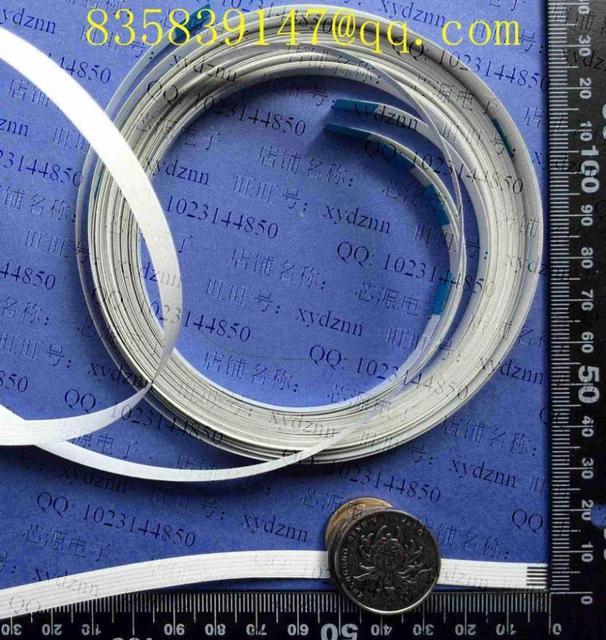 Kabel FFC 1.0 pitch 5/30/31pin 1500mm A jednokierunkowy elastyczny kabel płaski ROHS dostosowanie jest dostępne