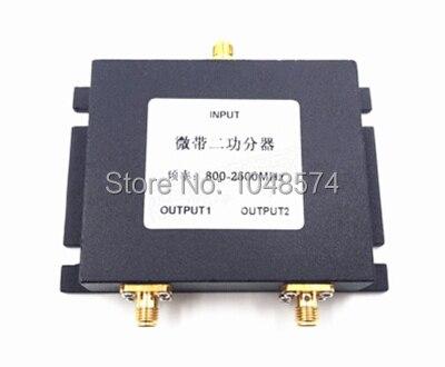 800-2500 МГц SMA женский 2 Way Делитель мощности Антенны Комбайнер для 3 Г 4 Г Мобильные Телефоны и модемы
