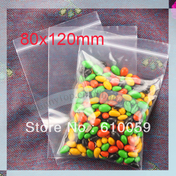 Whole Zipper Bag 80 X 120mm Grip Seal Ziplock Small In Storage Bags From Home Garden On Aliexpress Alibaba Group