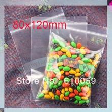 whole sale zipper bag (80 x 120mm) grip seal bag ziplock bag small grip seal bag(China (Mainland))
