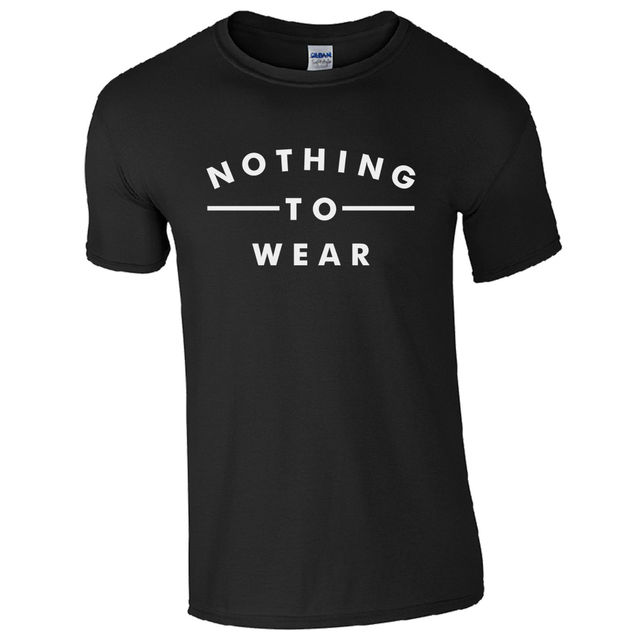 Nothing To Wear T-Shirt – Viral Celeb Jess Inspired Unisex Fashion Slogan Top