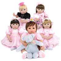 Kaydora 50 CM Adorable Princess Doll bonecas princesas Handmade boneca bebe reborn Lifelike Doll Reborn For Kids Playmate Toys