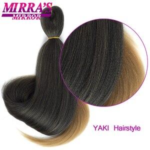Image 3 - MirraS Mirror Pre Stretched Braiding Hair Ez Braid Hair Synthetic Crochet Braiding Hair Extensions
