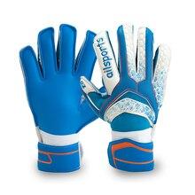 Kids Men Goalkeeper Gloves Finger Protection Thicken Latex Soccer Football Fingersave Goalie Glove security Non-slip Breathable