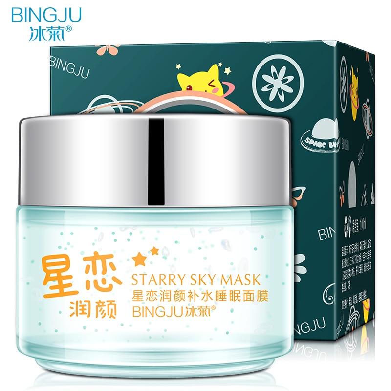 Hydration Skin Care: BINGJU Skin Care Sleep Treatment Mask Whitening Hydration