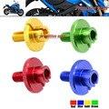 Para SUZUKI GSX R600 GSX-R600 GSX-R750 GSXR GSX-R 600/1000 Motocicleta CNC Billet Embrague Cable Ajustador M10x1.5 4 Colores