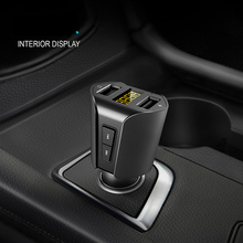 CDEN  Car MP3 player Bluetooth receiver U disk music Dual USB mobile phone charger FM transmitter Kit