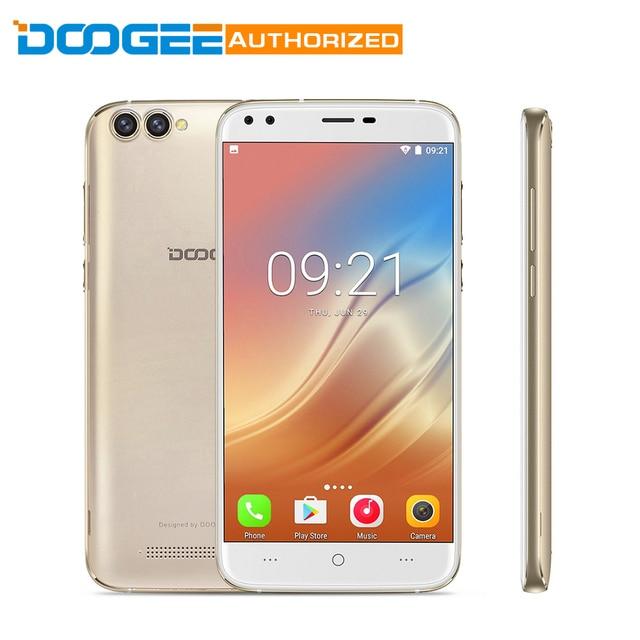 Doogee X30 3 г Android 7.0 5.5 дюймов смартфон двойной назад Камера mtk6580a 4 ядра 2 ГБ Оперативная память 16 ГБ Встроенная память мобильный телефон