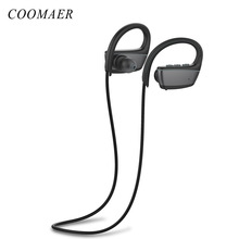 ФОТО est IPX7 Waterproof Bluetooth Earphone Sport Running Stereo Bass Wireless Headphone With Mic  Phone iPhone Xiaomi