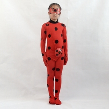Cosplay Miraculous Ladybug kostīms Girl Halloween kostīms Brīvdienu apģērbs Partijas apģērbs Lady ladybug spēlē kostīms