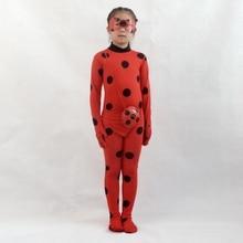 Cosplay Zázračný kudrnatý kostým Dívka Halloween kostým Prázdninový oděv Party oblečení Lady beruška hraje kostým disfraz