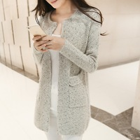 New Nice Spring Winter Women Casual Long Sleeve Knitted Cardigans Spring Autumn Crochet Ladies Sweaters Fashion Cardigan A225