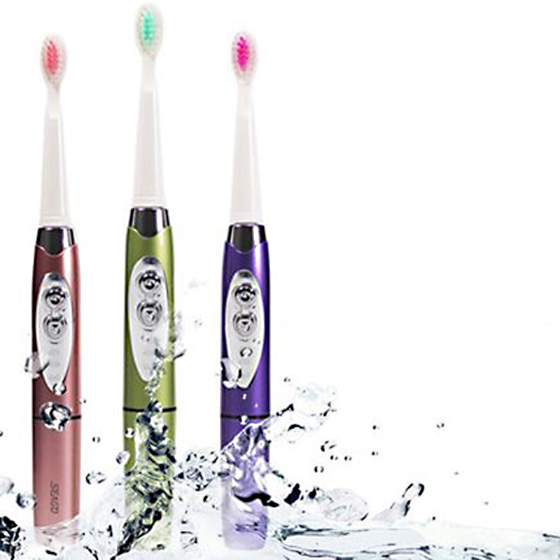 Seago Sonic Electric Toothbrush for Adult Teeth Whitening Intelligent Variable Frequency Soft-bristle 1 hoder + 3 Brush Heads children music ultrasonic electric toothbrush child waterproof soft bristle kid battery operated sonic electronic teeth brush
