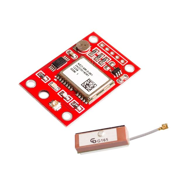 GPS Module GY-NEO6MV2 NEO-6M With Flight Control EEPROM RS232 TTL Large Antenna For GPS APM2 APM2.5 NEO6MV2 3-5V