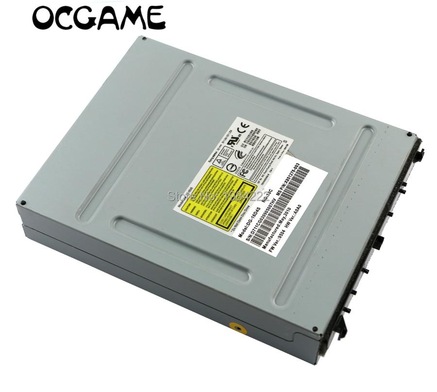 OCGAME ORIGINAL LITEON DG-16D4S FW 9504 DVD DRIVE WITH UNLOCKED PCB BOARD For XBOX360 SLIM