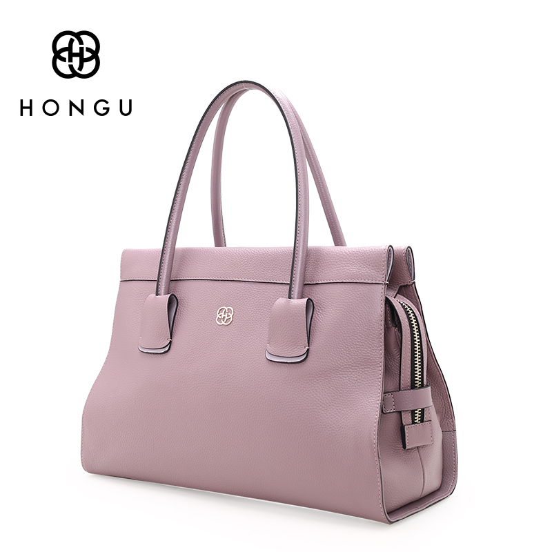 HONGU luxury Design Top Layer Cow Leather Bags Women Handbag Shoulder Bag Chain Solid Crossbody Female Small Messenger Bags Tote women shoulder bag cossbody handbag genuine first layer of cow leather 2017 korean diamond lattice chain women messenger bag
