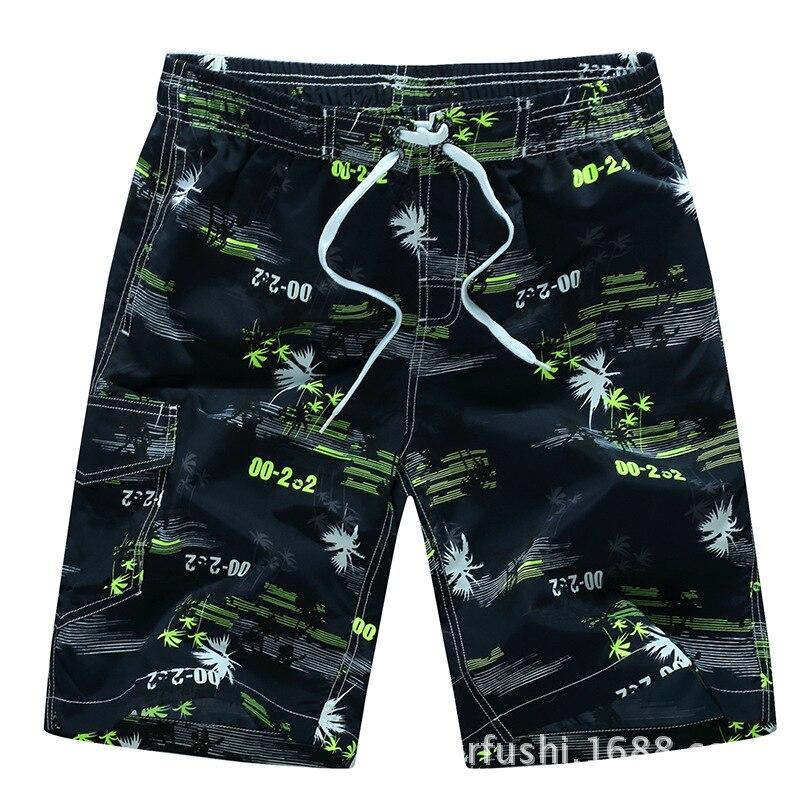 New 2018 Slacks Soft Shorts Summer Beach Print Swimwear Swim Trunks Surf Beach Short Sport Swimsuit Pants