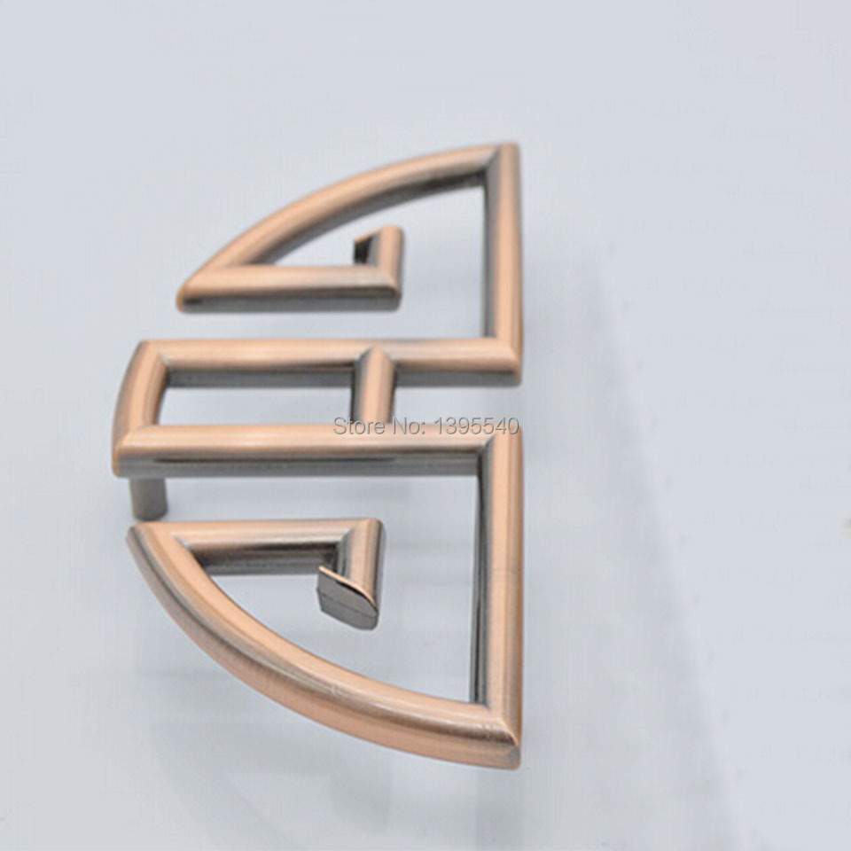 New 64mm Copper Antique Cabinet Knobs Euro-Style Furniture Solid Creative Vintage Cupboard Closet Drawer Handle Pulls Bars