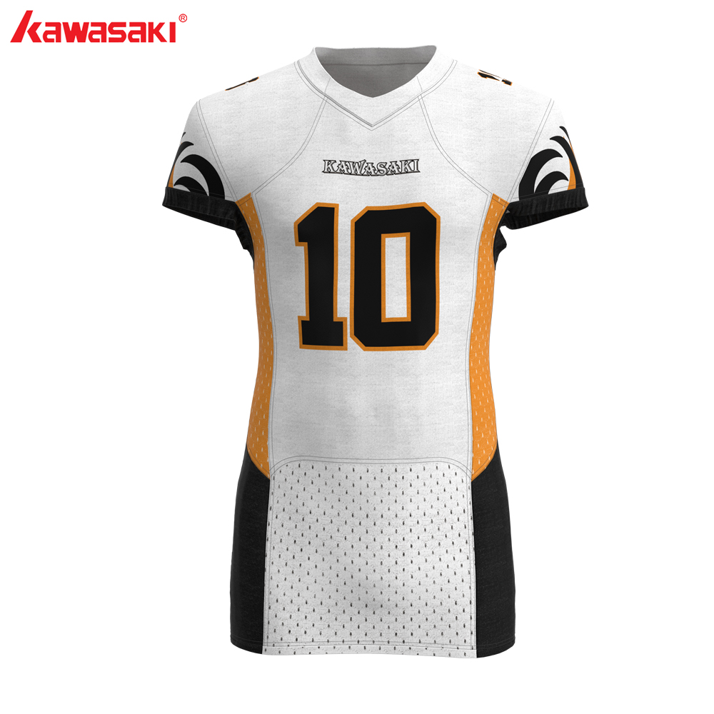 Plus Size Kawasaki Men's American Football Jersey Custom Collage Training Match Breathable Team Wear Football Shirt Jerseys image