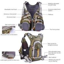 Fishing Vest General Size Multi Function Adjustable Mesh Vest With Mutil-Pocket
