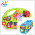 Child Puzzle Brinquedos Bebe Eletronicos Bus Learning Piano Instrumentos Musicais Free Shipping Huile Toys 927 & 908