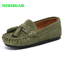 HOBIBEAR Spring Autumn Children Flat Shoes Boys Baby Luxury Brand Kids Designer Sneakers Fashion Moccasins Cheap