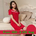 Free shipping Short-sleeve nightgown female summer 100% cotton plus size cute sexy sleepwear lounge Sleepshirts