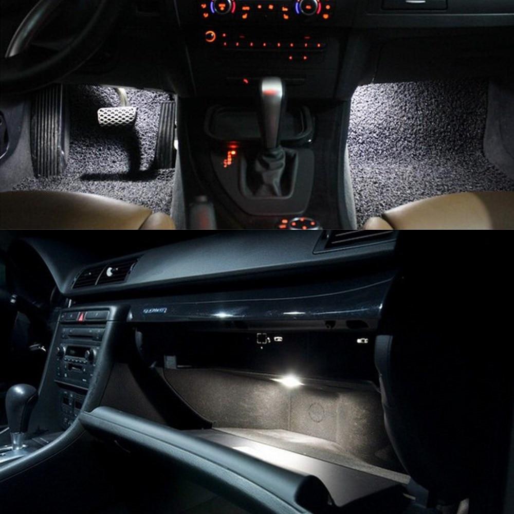 8pcs for bmw e46 m3 318i 323i 325i 328i 330i 1999 2005 canbus white led interior kit car styling [ 1000 x 1000 Pixel ]