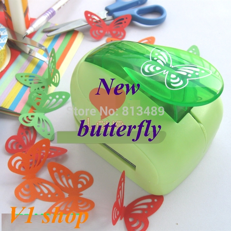 Free shipping 2014 New 33cm butterfly punches limited edition large craft punches decorative hole punch very beautiful