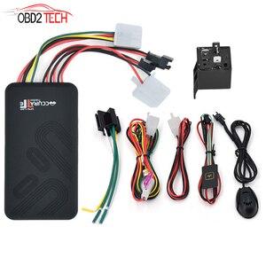 Image 1 - GT06 سيارة صغيرة لتحديد المواقع المقتفي SMS GSM جي بي آر إس مركبة نظام تتبع على الانترنت رصد جهاز التحكم عن بعد إنذار للدراجات النارية + ميكروفون