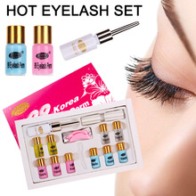 Eyelash Curling Perming Set Curler Rod Glue Perm Lotion Lash