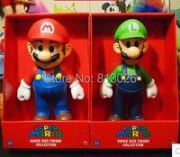 23 25cm Super Mario Bros Mario Yoshi Figures PVC Collection Figures Toys For Christmas Gift Brinquedos