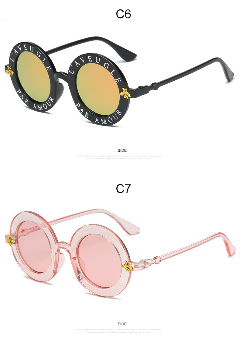 7081354029 Round Sunglasses Men Women Retro English Letter Mirror Sun Glasses Brand  Designer Fashion Vintage Lunette De Soleil Femme UV400