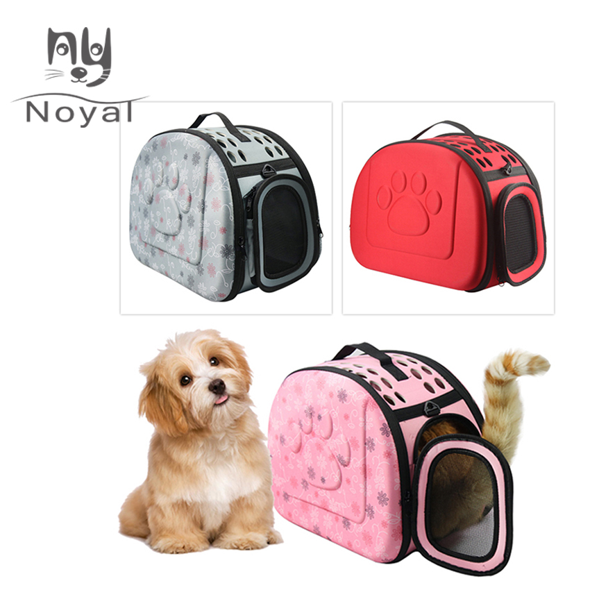 Pet Carrier Handbag Foldable Outdoor Travel Bag
