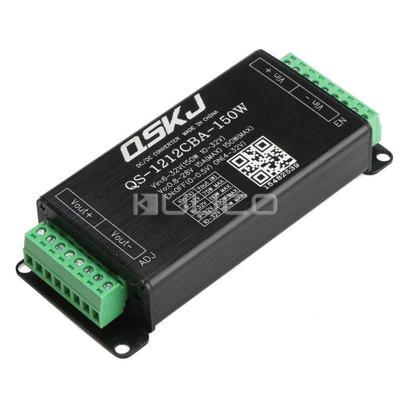 5 pcs/lote DC à DC convertisseur DC 6 ~ 32 V à 0.8 ~ 28 V 15A 150 W Boost - Buck alimentation réglable régulateur de tension / puissance adaptateur
