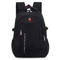 2017 New Fashion Men Backpacks School Bag Boy For Teenagers Chain Oxford Waterproof Backpack Male Backpack