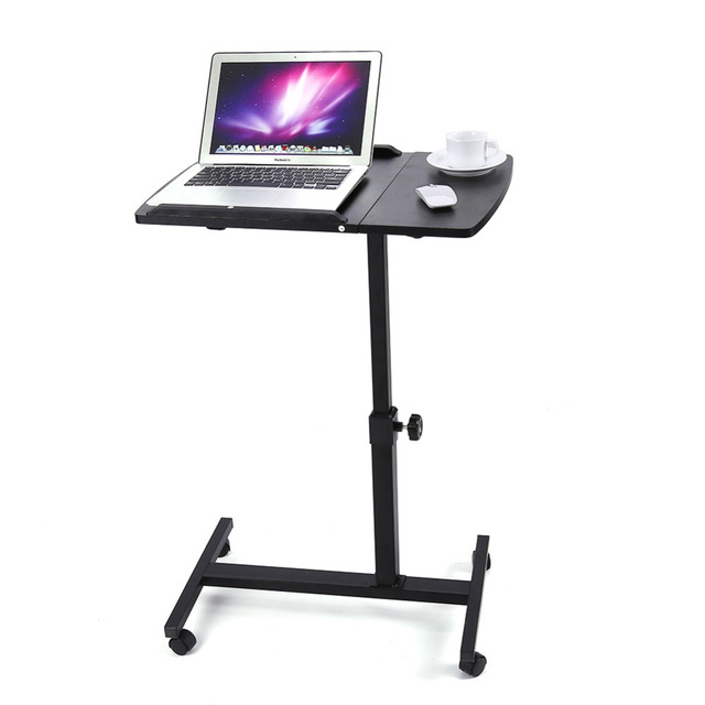 Delicieux Household Lazy Bedside Mobile Computer Desk Height Angle Adjustable Laptop  Desk Stand Lap Tray Computer Table
