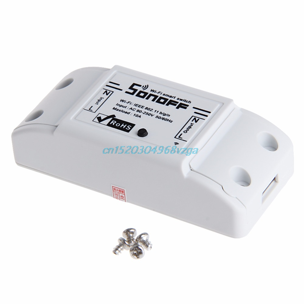 WiFi Wireless Smart Switch Module ABS Shell Socket For DIY Home New H028