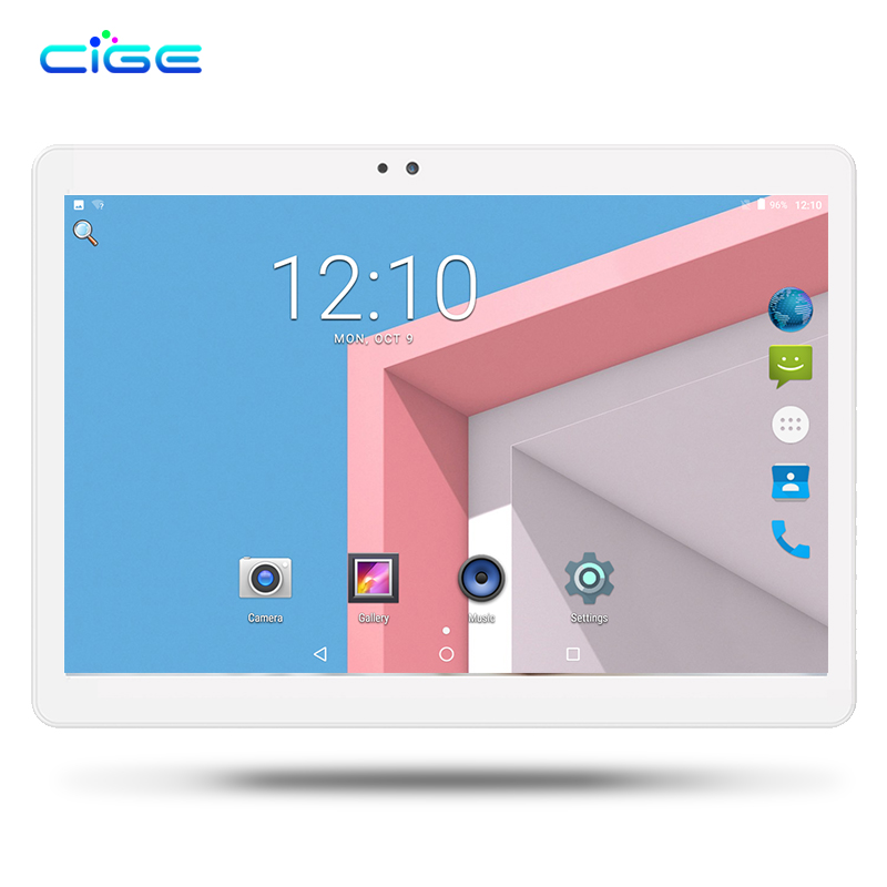 CIGE High grade 2018 Android 7.0 10.1 inch tablet pc 8 Octa Core 4GB RAM 32GB ROM IPS 4G LTE MT8752 tabletter Tablets GPS WIFI 2017 новый 8 0 huawei m3 lite 3gb ram 32gb rom android 7 0 wifi lte tablet pc msm8940 octa core 1200x1920 отпечаток пальца 8 0m