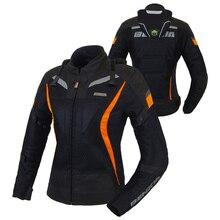 BENKIA Women Motorcycle Jacket Motocross Racing Jackets Ropa Moto Jaqueta Motoqueiro Protective Racing Suit Female