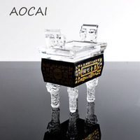 AOCAI 105*80*55mm Integrity tripod Chinese ding Home Decor Decoration Crafts Chinese ancient items artwork gift