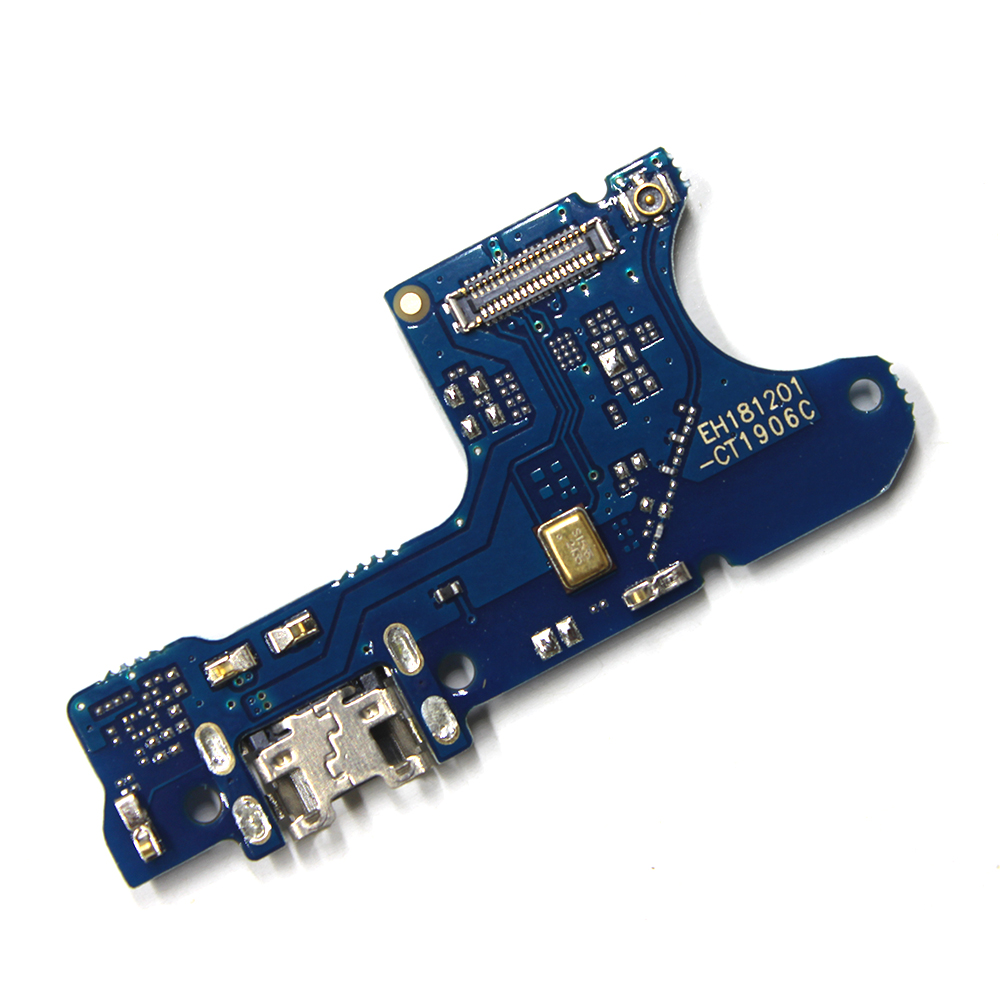 Charging Port Connector Board Parts Flex Cable With Microphone Mic For HuaWei Y7 2019 / Y7 Pro 2019 / Y7 Prime 2019 / Enjoy 9