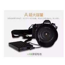 EN-EL14a EN-EL14 8000mAh Camera External Power For Nikon D5600 D3400 D5200 D5100 P7800 Smartphone External Mobile Power Battery